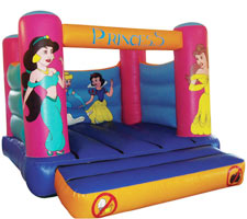 Princess Bouncy Castle Hire - Gosport